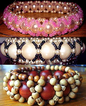 Бисерные браслеты своими руками