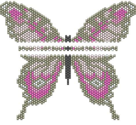 мозаичного плетения или в