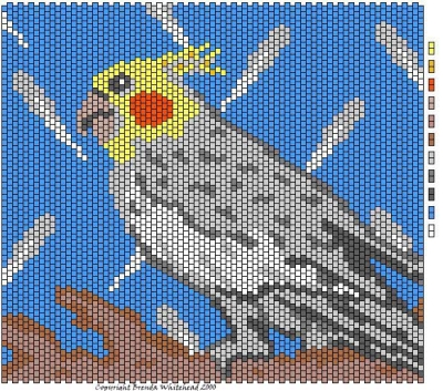 схемы плетения совы